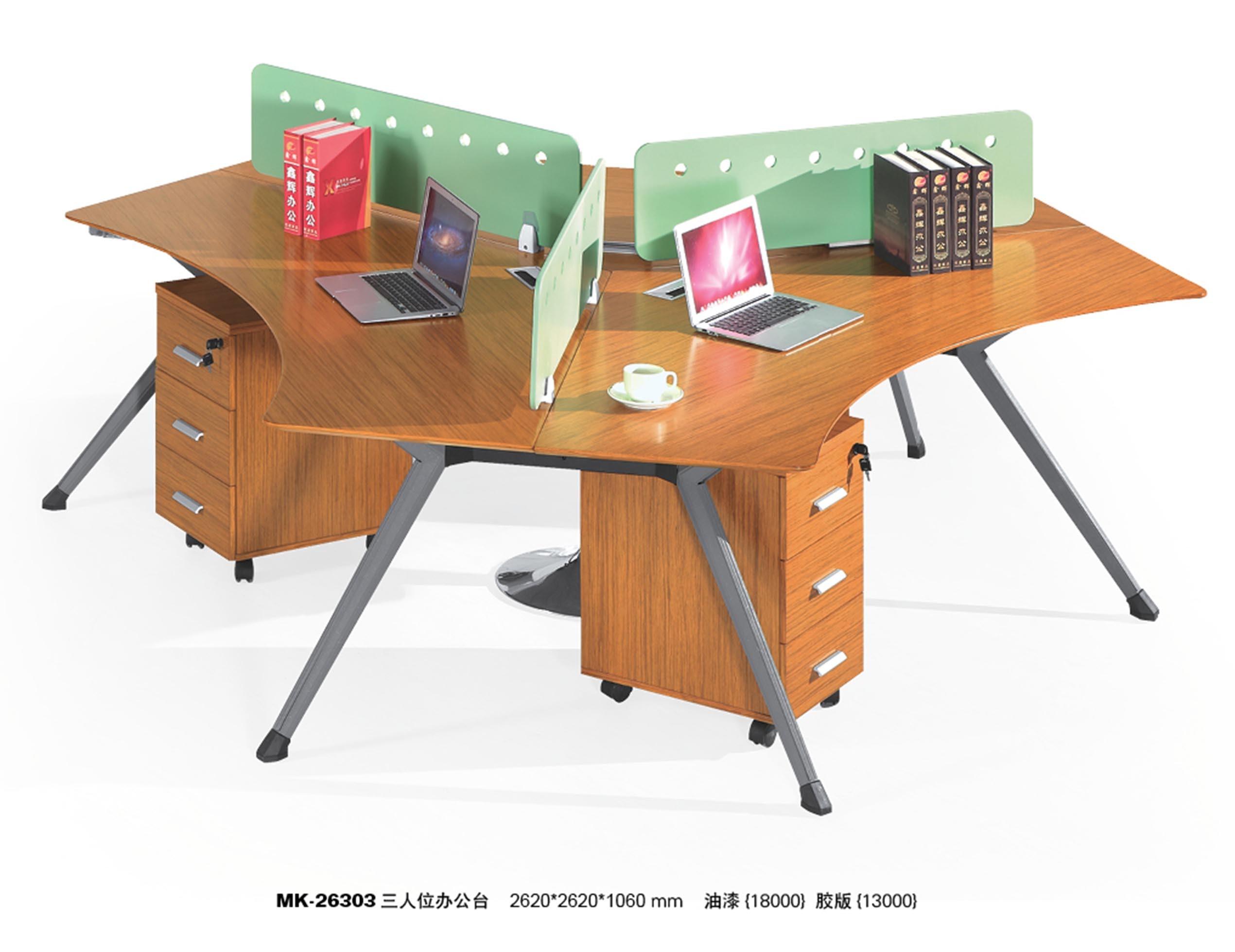 Modern Design Modular Wood Straight Computer Table