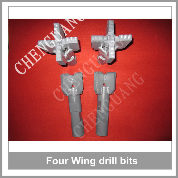 Best Selling Four Wings Drag PDC Drill Bits for Soft Rock Drilling