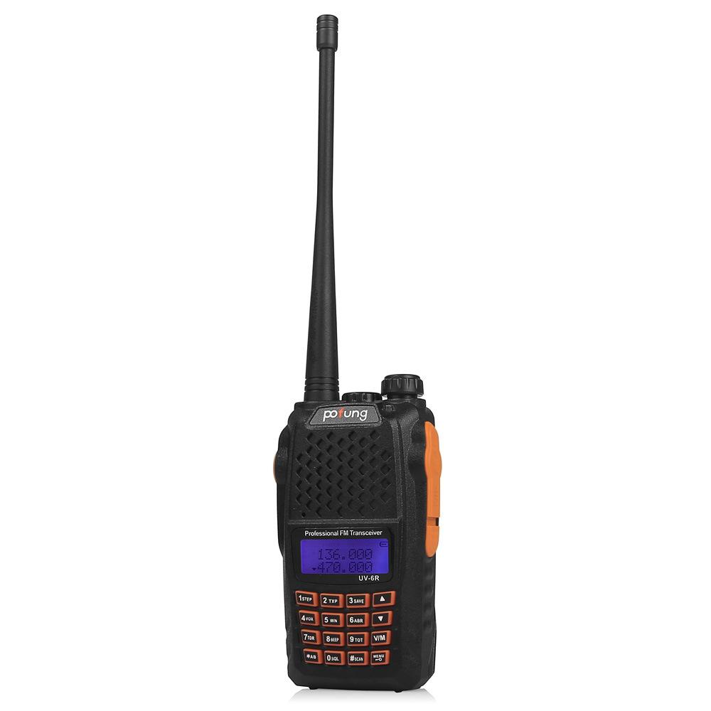 Dual Band Walkie Talkie Handheld 2 Way Radio