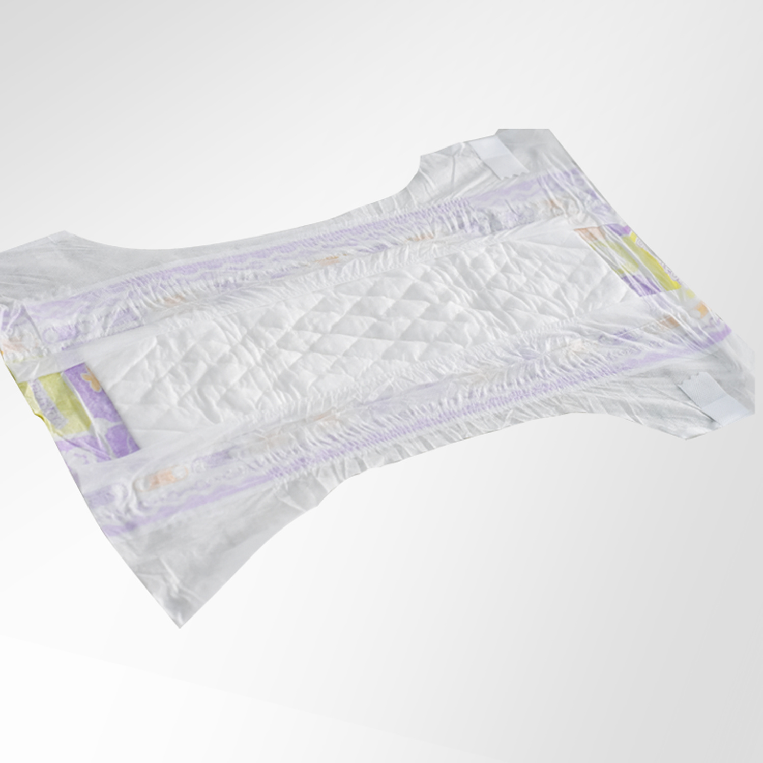 Disposable OEM Manufacturer Breathable Cloth-Like Back Sheet Incontinence Baby Diaper