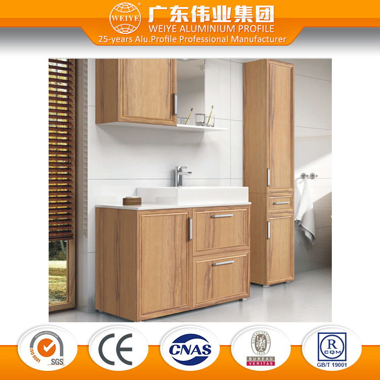 Bathroom Cabinet Made in Aluminium Material, Customized Bathroom Furniture Supplier