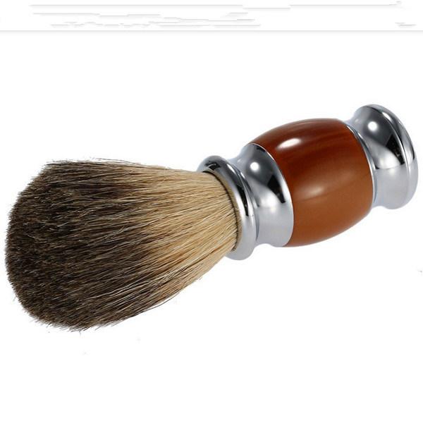 Professional Makeup Badger Hair Shaving Brush for Male