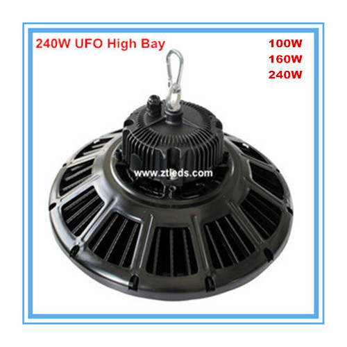 IP65 135lm/W SMD Philips Meanwell Driver 150W LED UFO High Bay Light