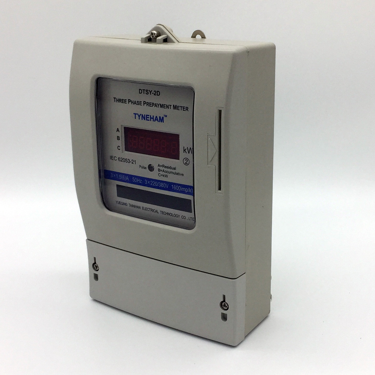 Dtsy-2D Series Three Phase Electronic Prepaid Energy Meter