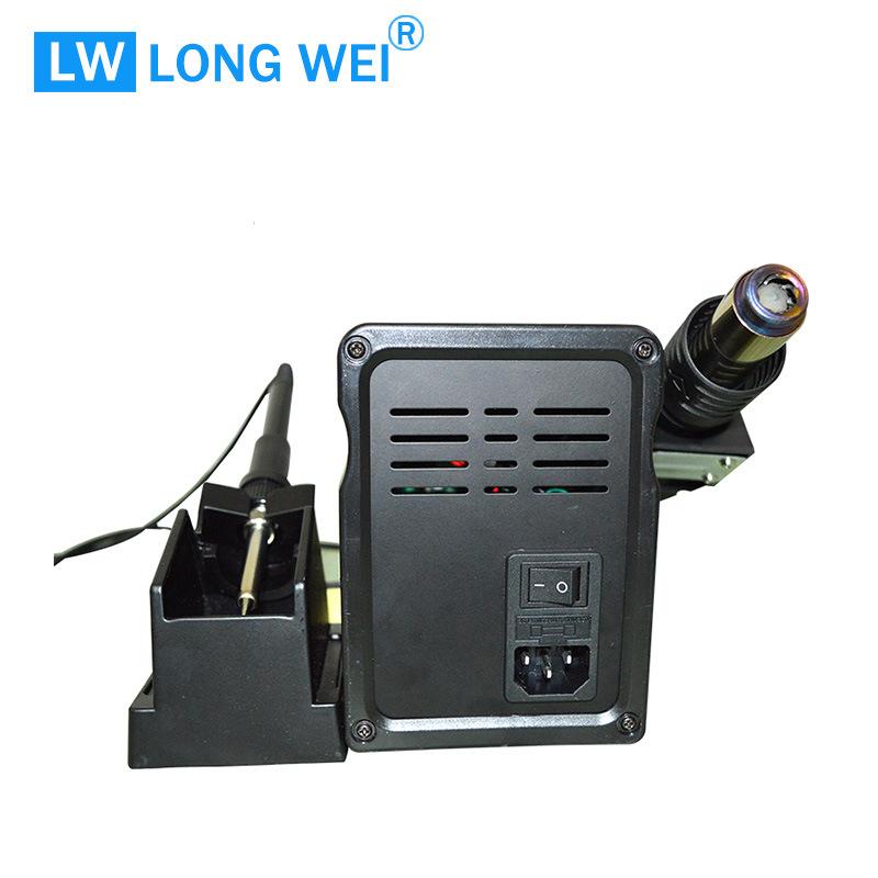 Lw8586D Hot Air Gun & Soldering Station SMD Desoldering Station 2 in 1 Welding Machine