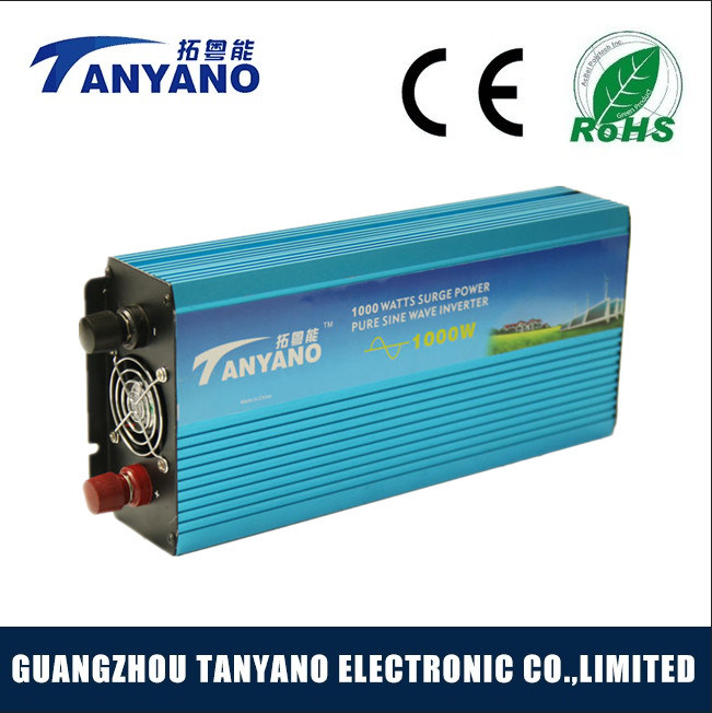 DC12V to AC220V 1000W Pure Sine Wave Power Inverter