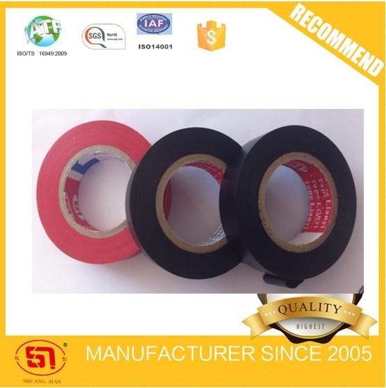 Shiny Flame Resistant Tape PVC Electrical Insulated Tape