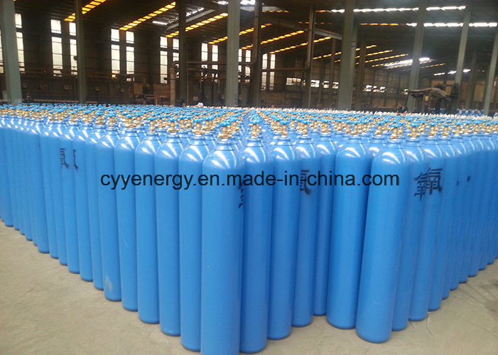 Seamless Steel Fire Fighting Gas Cylinder with Different Capacities