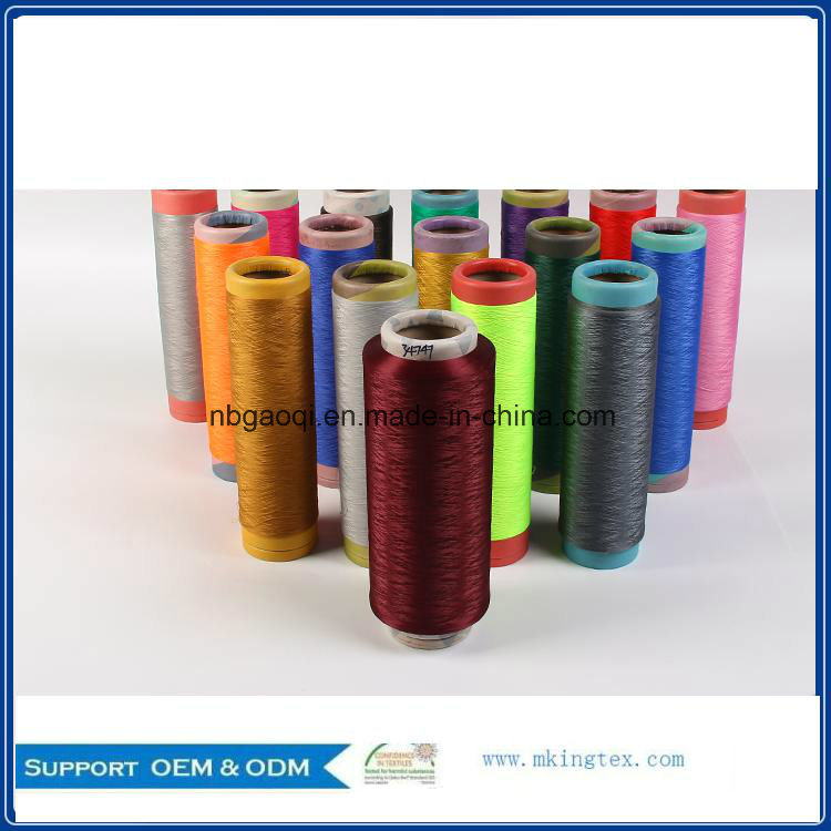 Dope Dyed Polyester Yarn DTY 150d/48f