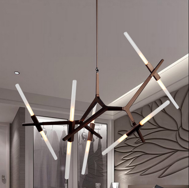 Wonderful Living Room Modern LED Haning Pendant Lamp Lights Lighting in Black, G9 3W, 3000k