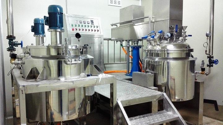 Vacuum Homogenizing Mixer and Emulsifier (ZJR-250~ 1000L)