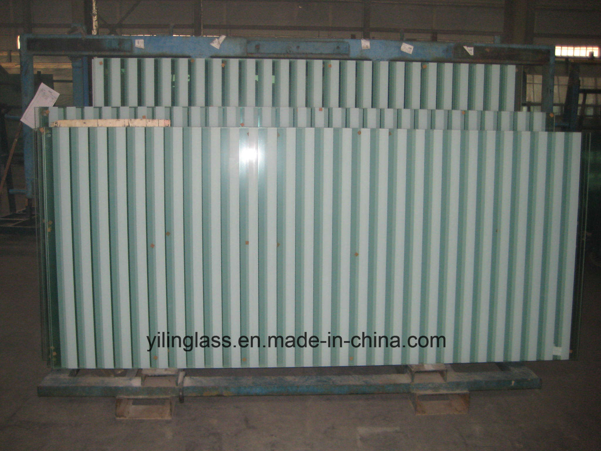Color Patterns Painted Glass with Ce TUV Certificate