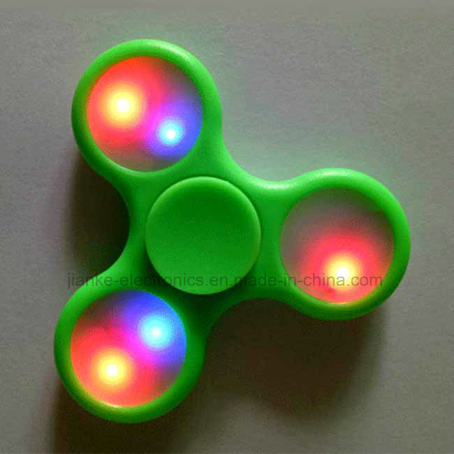 Custom Flashing Fidget LED Hand Spinner with Logo (6000)