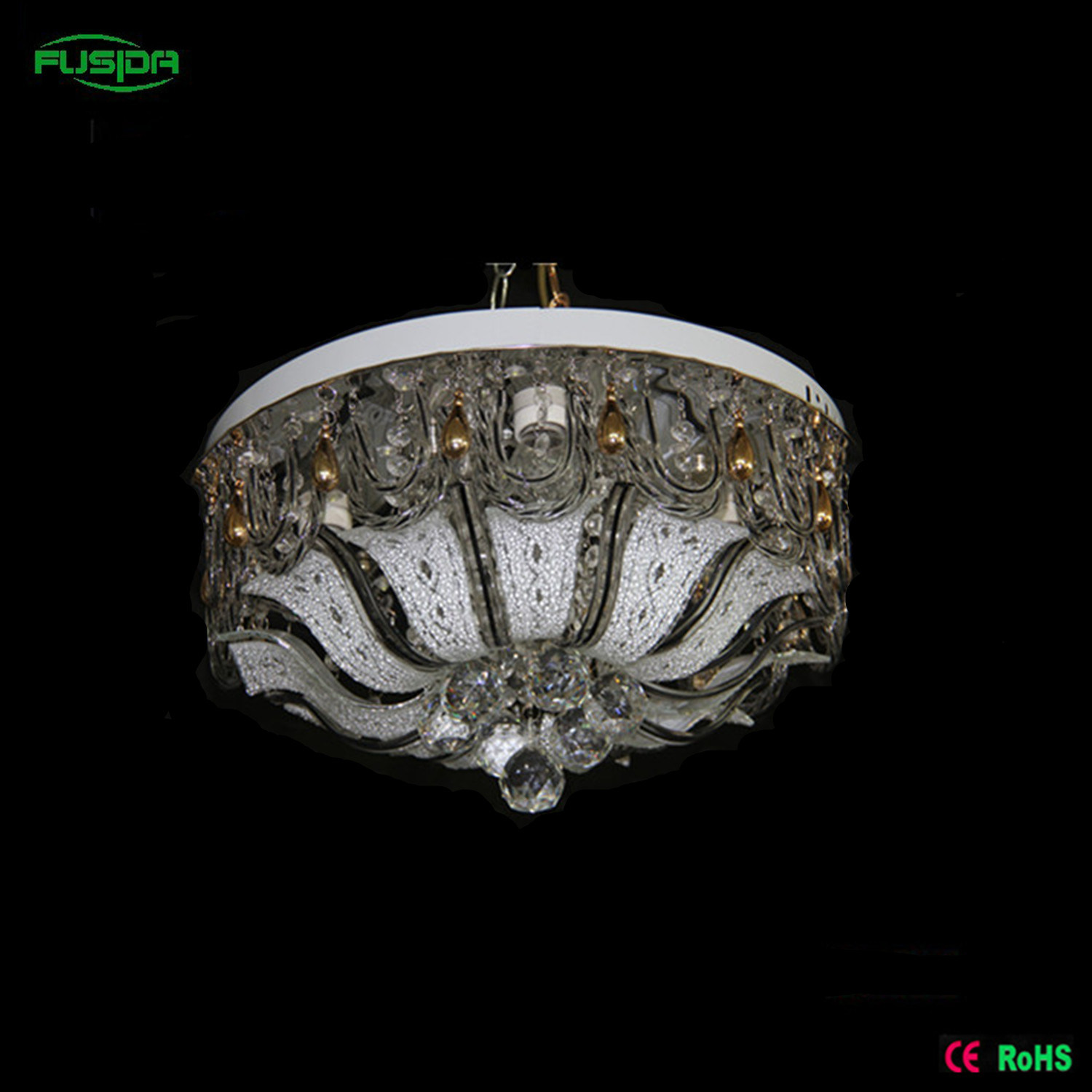 Decoration Crystal LED Ceiling Lighting with Remote