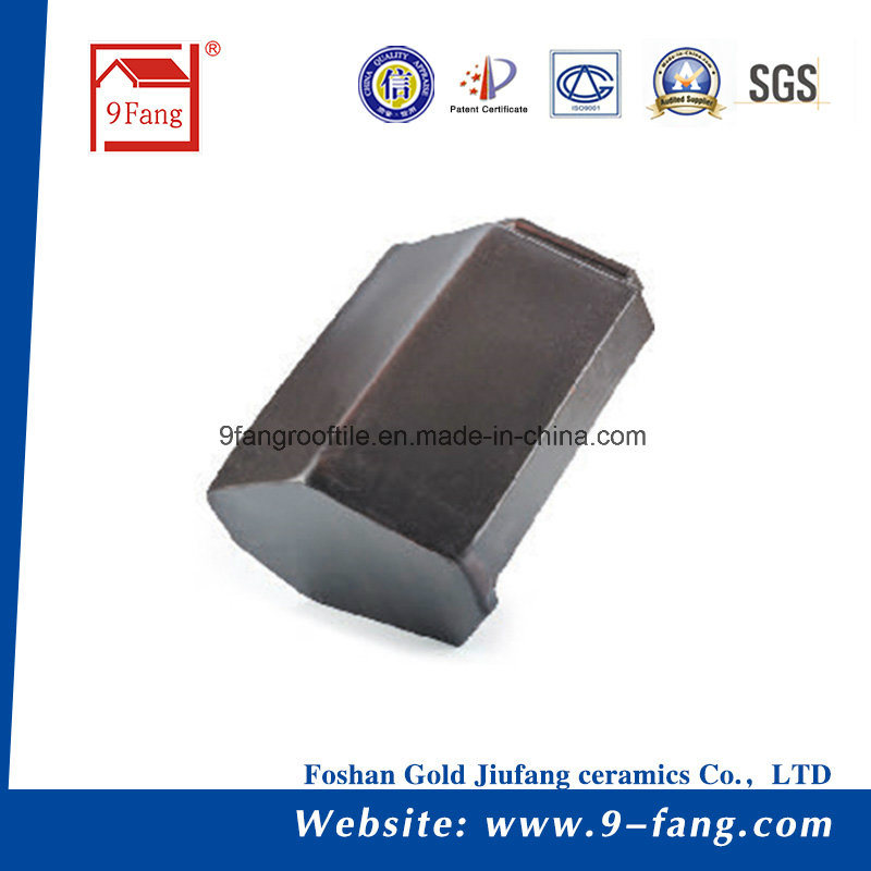 Clay Roofing Tile Flat Type Roof Tile Made in China 265*390mm
