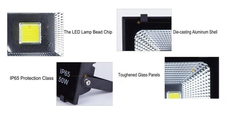 Bridgelux LED Chip Meanwell Driver 150W LED Flood Light Outdoor