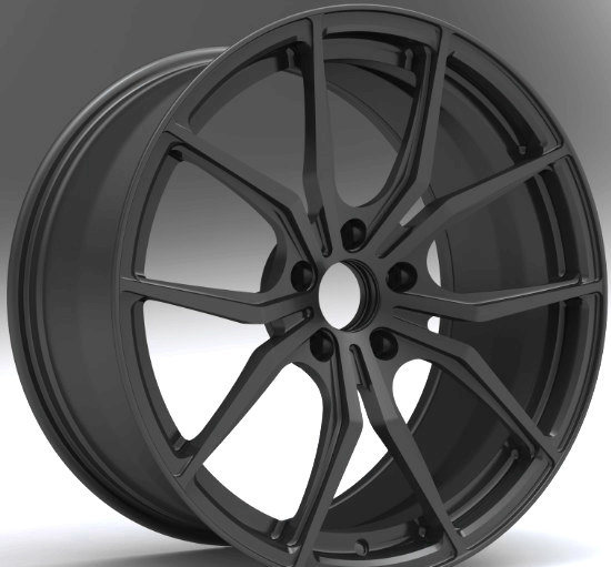 High Performance Forged Aluminum Wheels