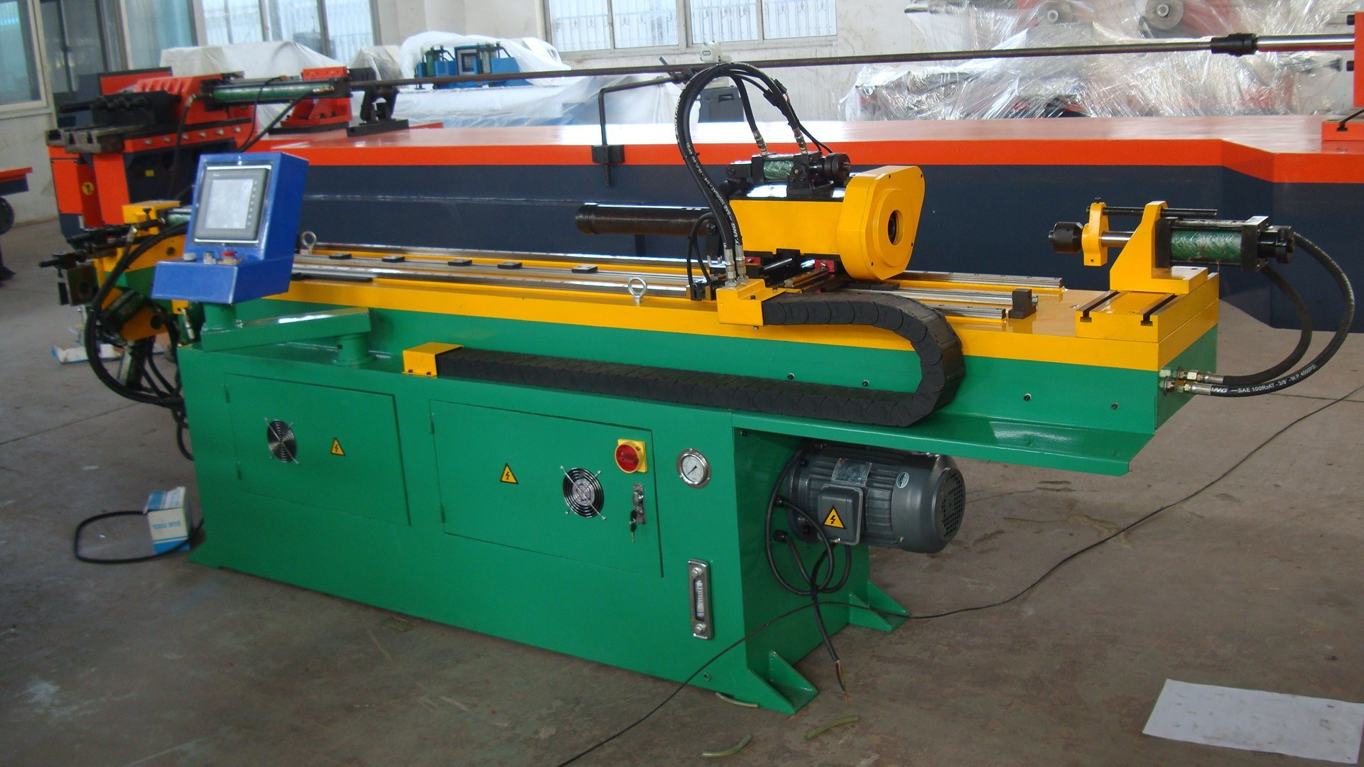 Three-Dimensional Pipe Bending Machine (GM-SB-38NCBA)