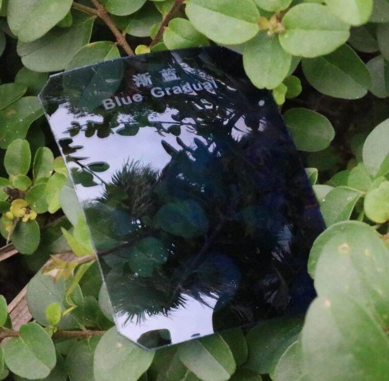 Sunglass Polarized Tac Lens Optical Lens Light Blue Gradual