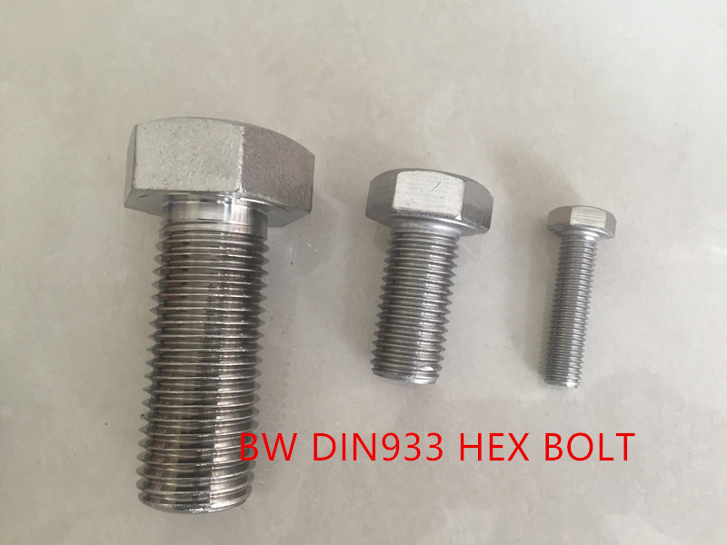 Stainless Steel Bolt DIN933