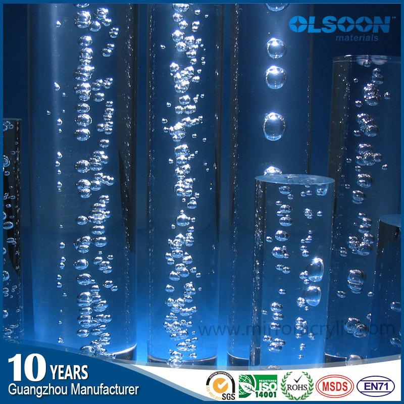Guangzhou Manufacture Acrylic Light Rod/Plastic Rod/ Plexiglass Rod