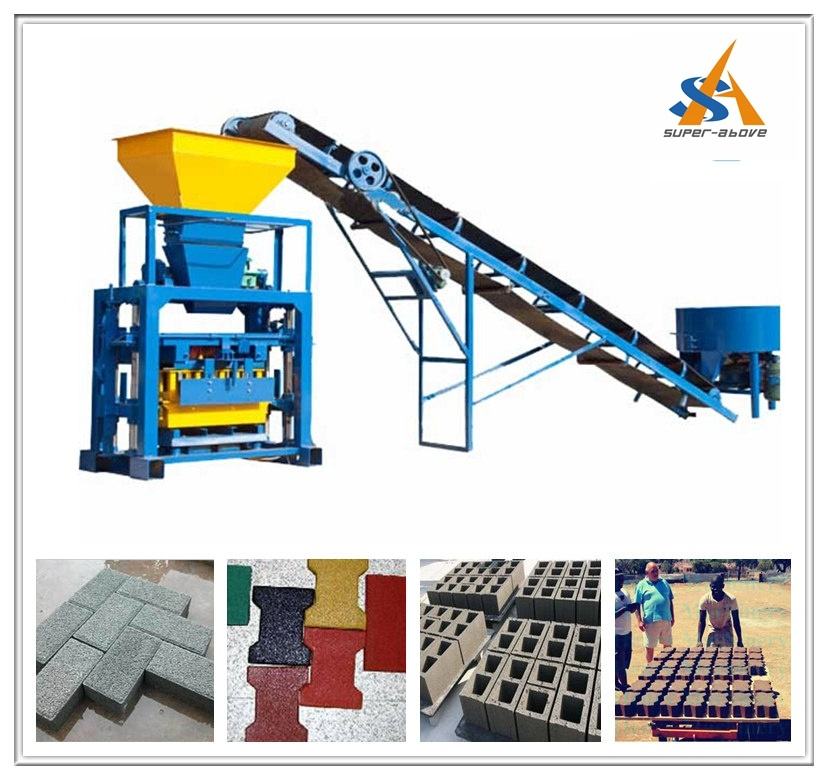 Fully Automatic Concrete Block Making Machine and Cement Brick Production Line