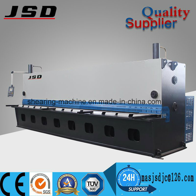 Hydraulic Steel CNC Guillotine Shearing Machine From Maanshan