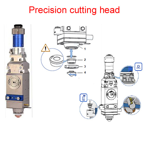 4020A Cutting Machine for Metal Stainless Steel Fiber Laser Engraving