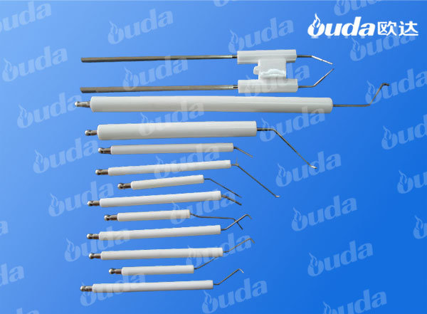 Ceramic Tube Ignition Electrode Needle for Gas Water Heater