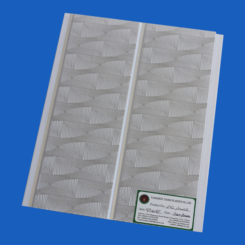 Printing PVC Ceiling Tiles Ceiling Boards 6-10mm Thickness