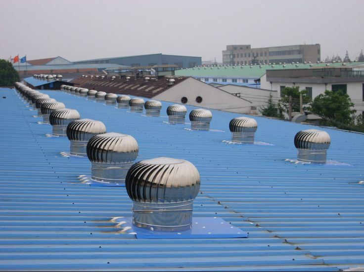 Rooftop Wind Turbines Ventilator : China wind driven rooftop turbine ventilator