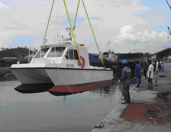 catamaran hull boats