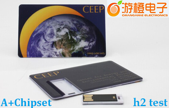 Fashion Credit Card Table Style USB Disk (OM-P512)