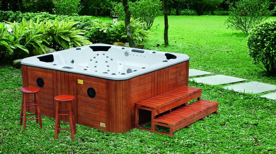 Hot Tub Parts Backyard : China Outdoor SPA  Hot Tub with 103 Jets Totally (G680)  China Spa