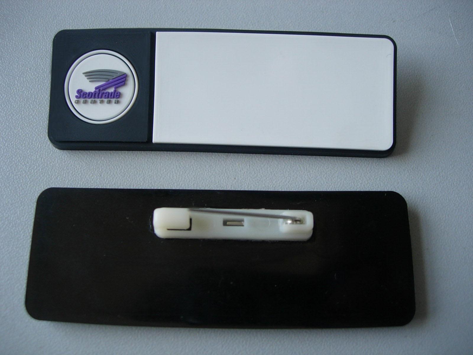 Soft PVC 3D Name Badge