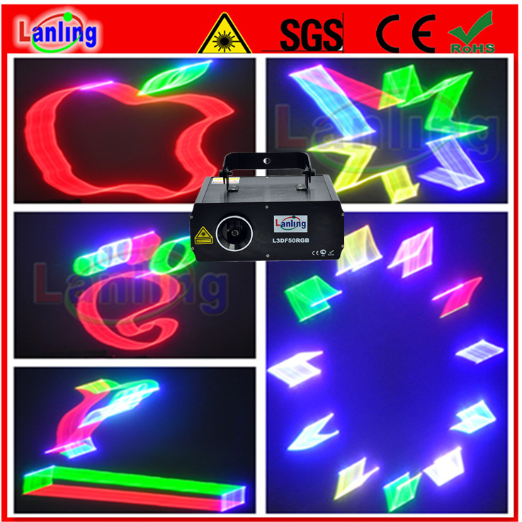 RGB 3D Laser Light Projector