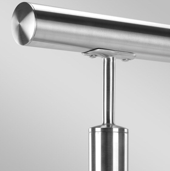 Stainless Steel Handrail and Balustrade Systems with Fittings
