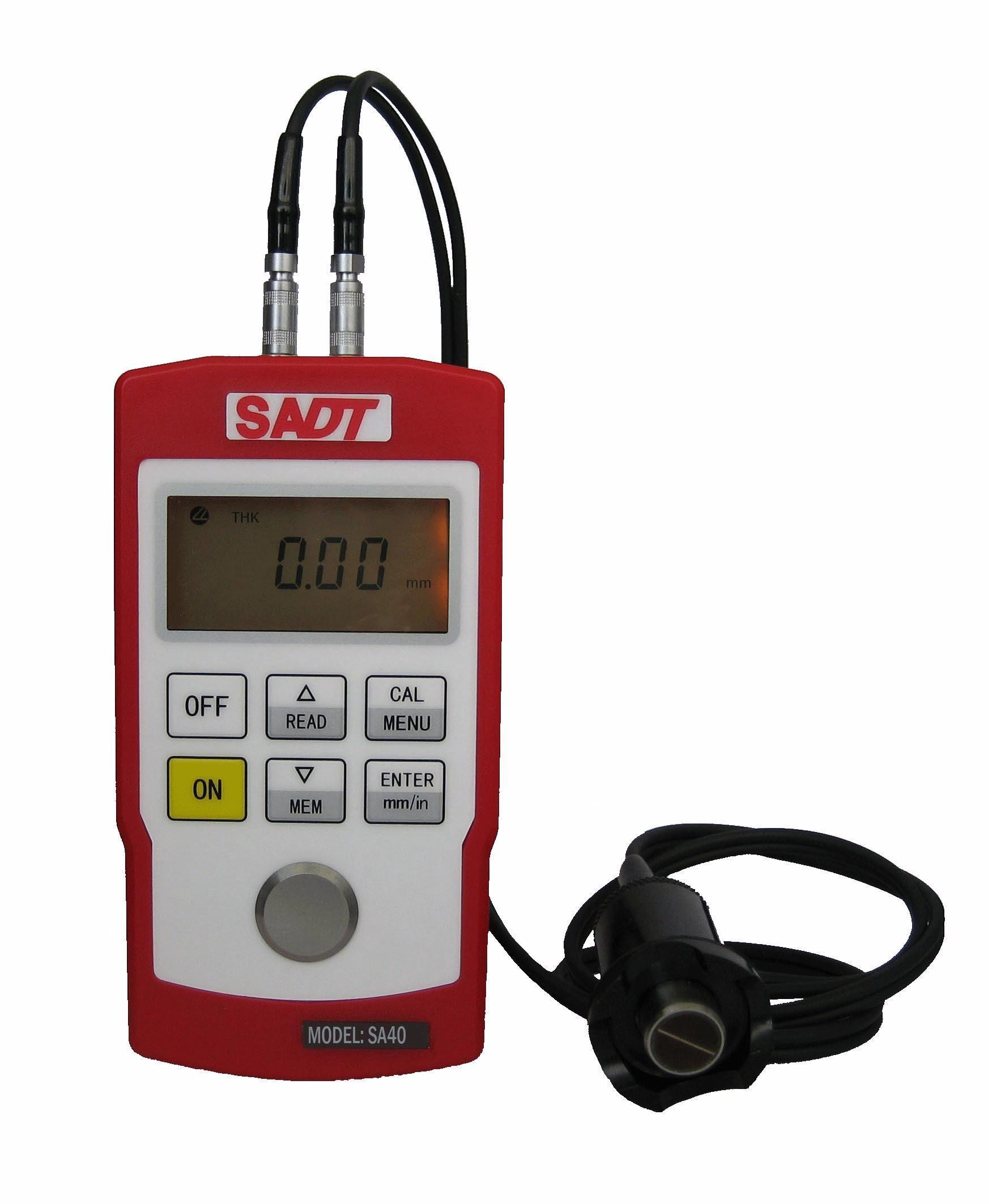 Portable Ultrasonic Wall Thickness Gauge (SA40) with High Accuracy