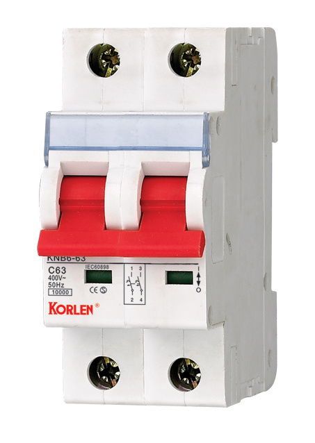 High Breaking Miniature Circuit Breakers (MCB)