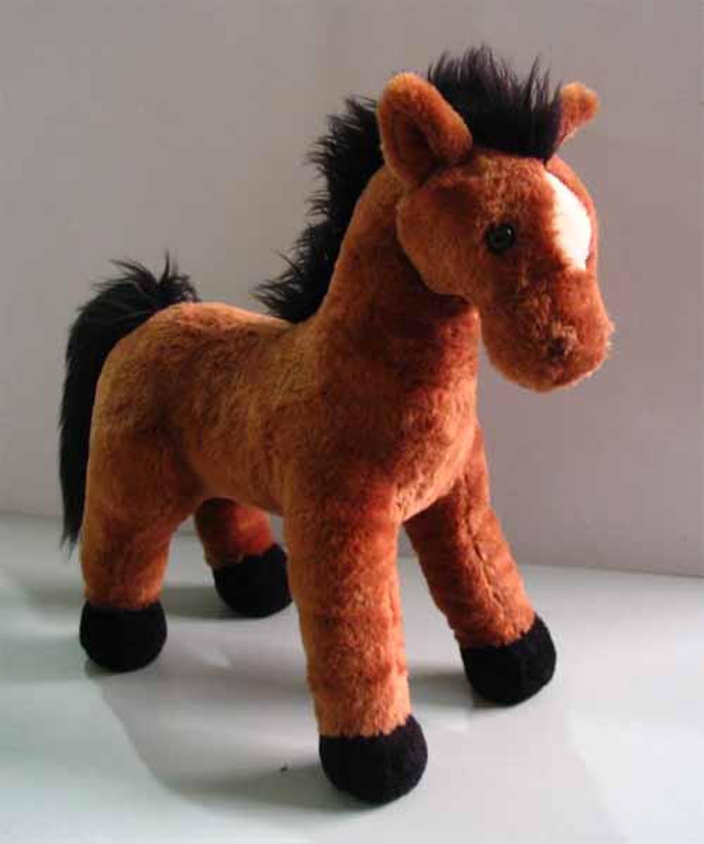 Stuffed Horse Toy : China plush horse toy