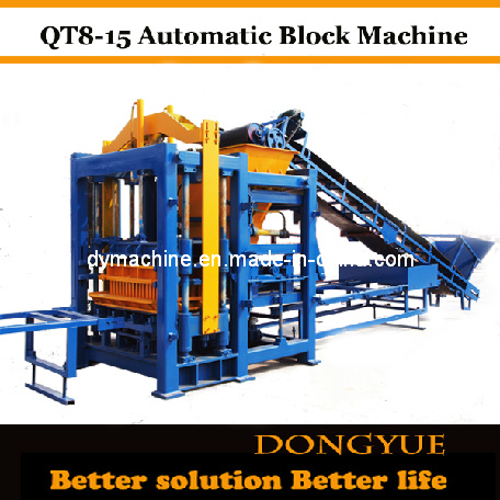 Flyash Brick Making Machine Qt8-15 Dongyue