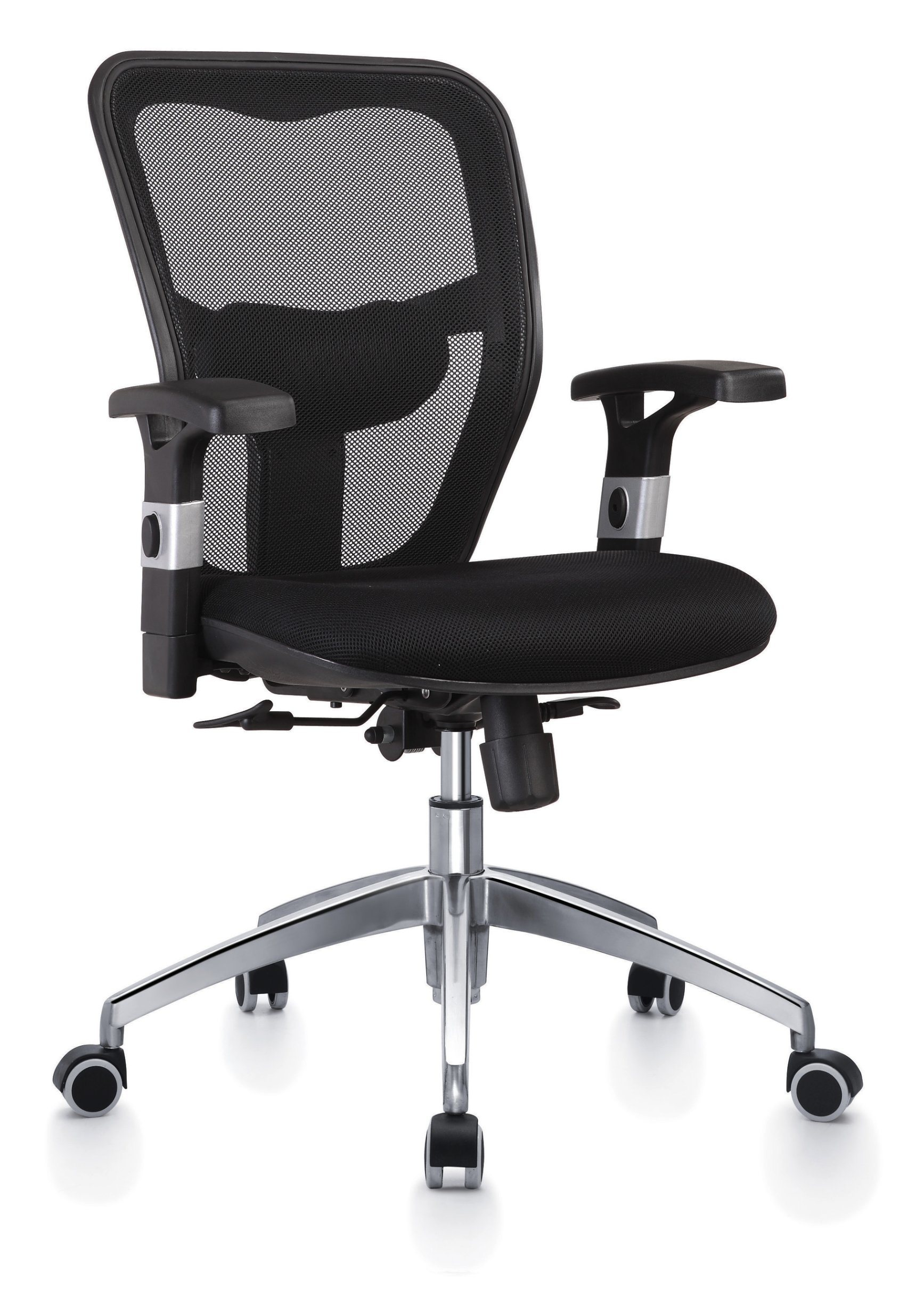 Office Swivel Djustable Computer Task Chair with Mesh, Low-Back