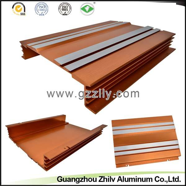Car Parts Aluminum Extrusion Heat Sink