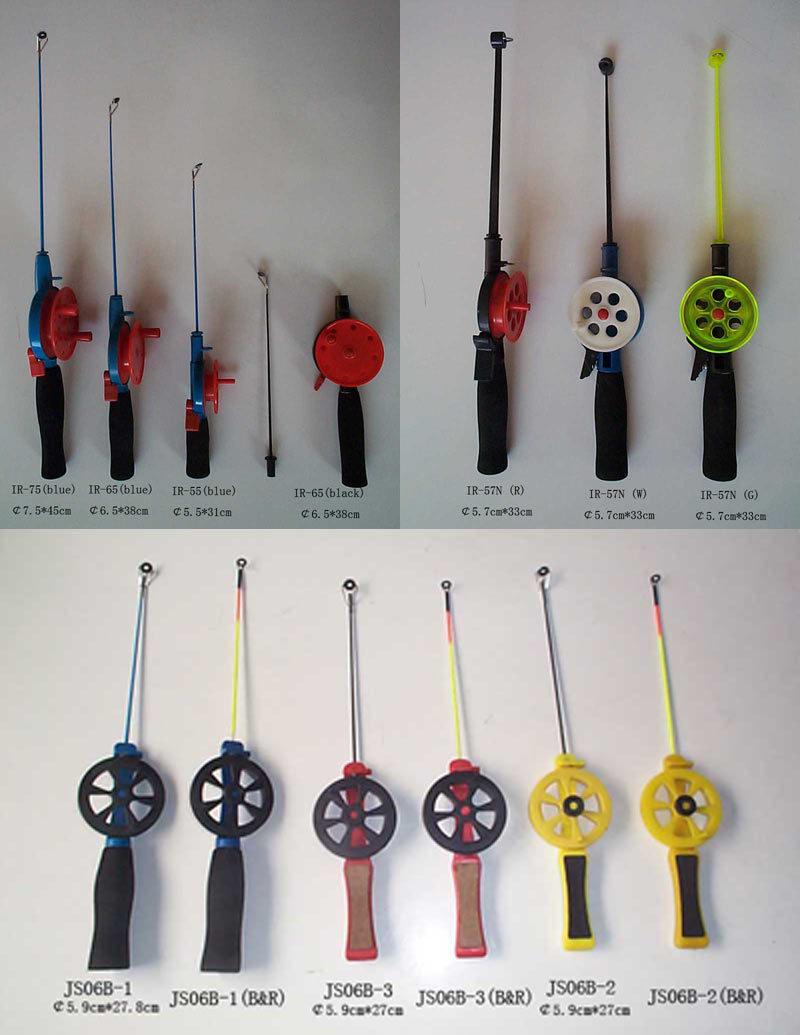 Fishing ice fishing rods for Ice fishing rod