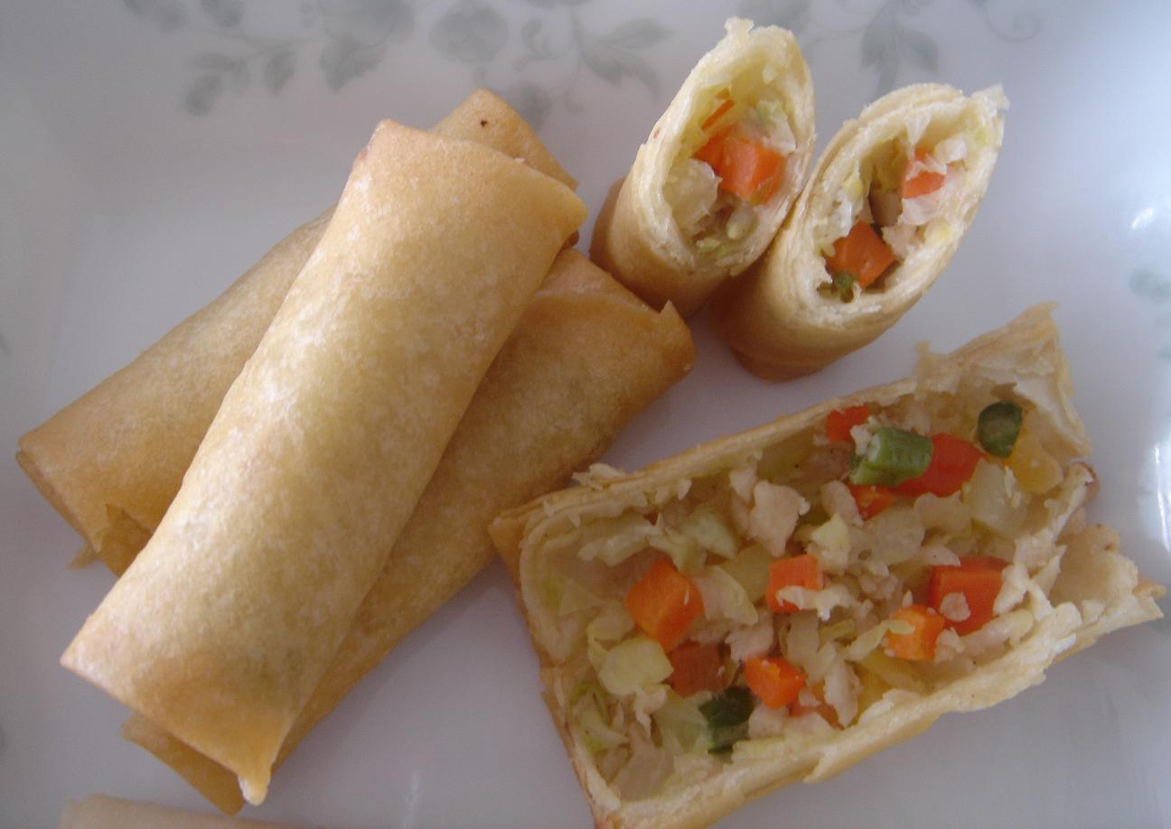 China Frozen Vegetable Spring Rolls - China Spring Roll, Vegetable