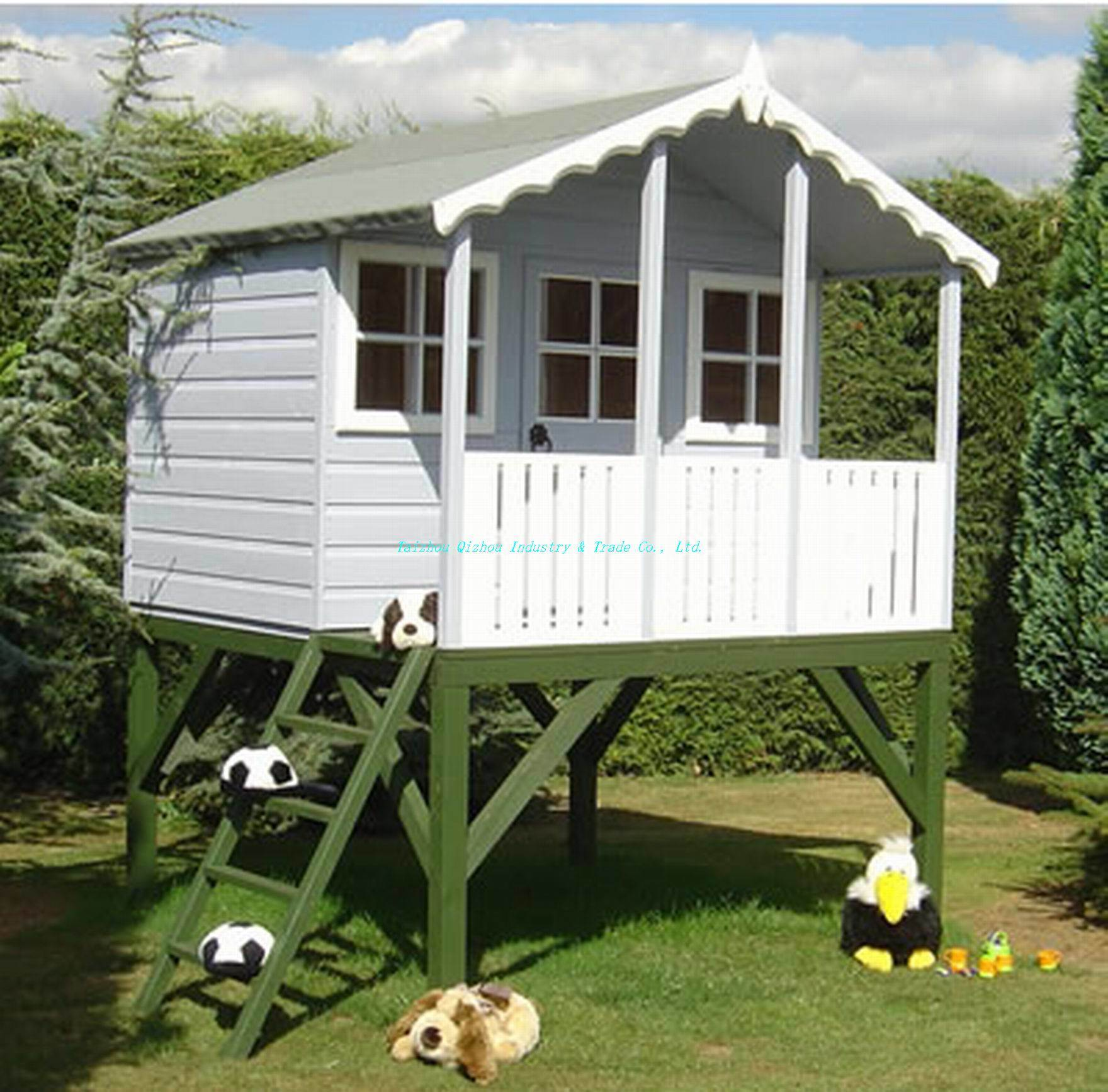 plans for building a swing set white playhouse with chevers