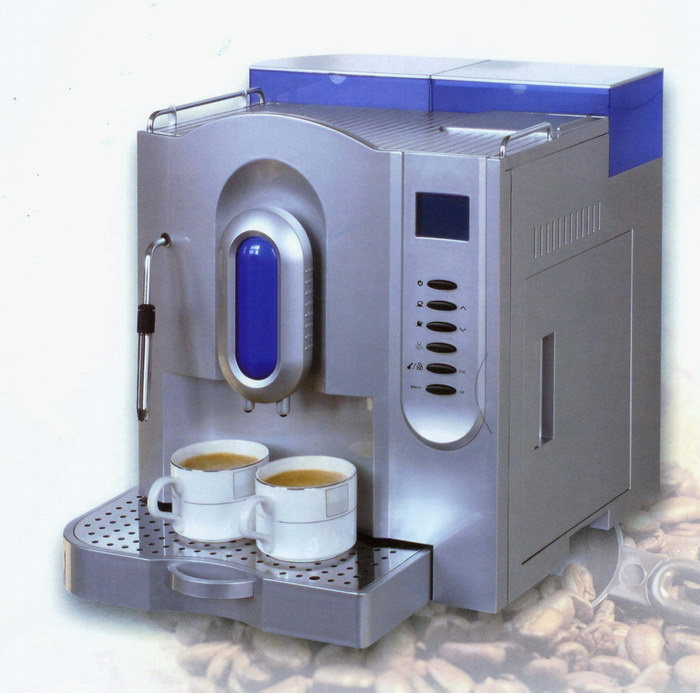 China Fully Automatic Coffee Machine(ME-707 silver) - China Automatic coffee machine, Automatic ...