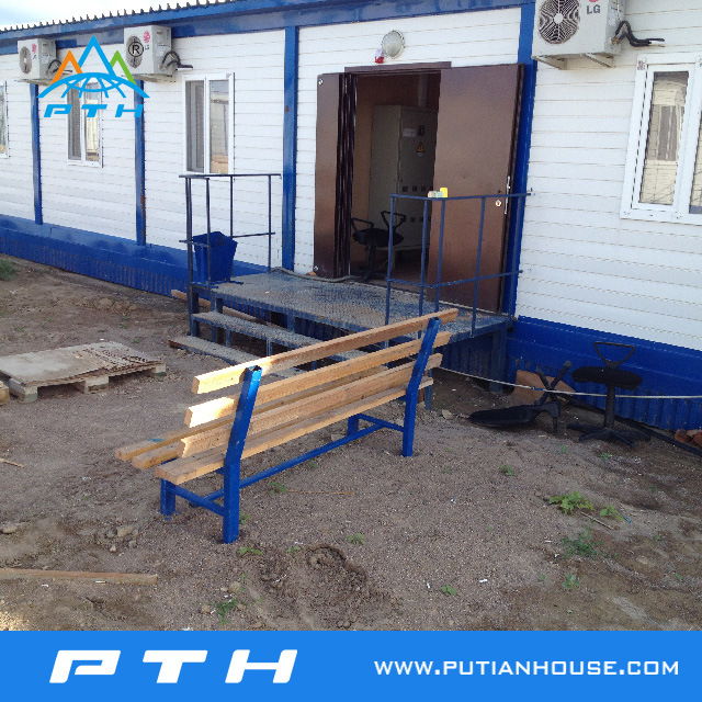 Flat Pack Prefabricated Container House for Home Building