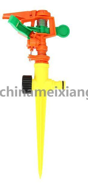Orbit Sprinkler, Impact Sprinkler, Lawn Watering Garden Sprinkler (MX9515)