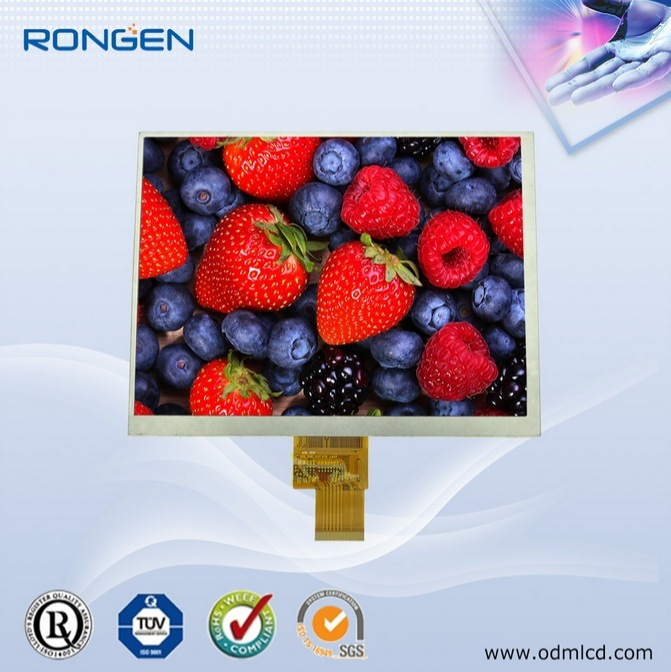 "Rg-T080qxh-02 8"" TFT LCD Screen 1024*768 Industrial LCD Monitor Display"